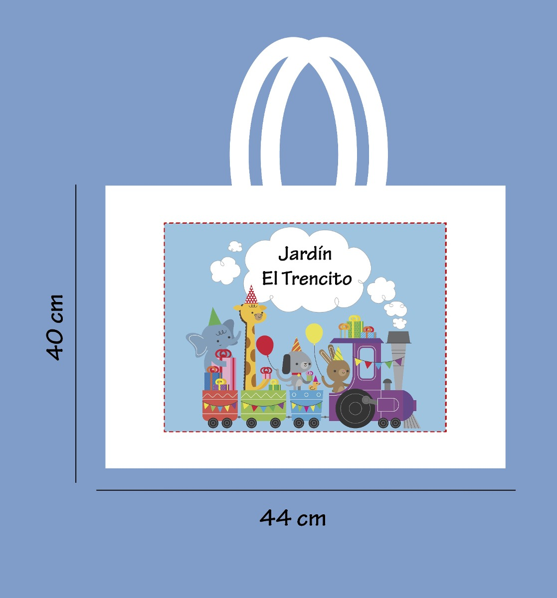 3b86f708b Bolsa Para Carpetas Jardin De Infantes Escuelas - $ 85,00 en Mercado ...