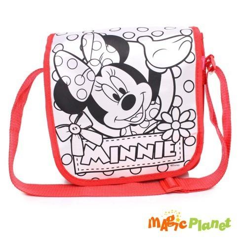 Bolsa Para Colorir Minnie R 99 90 Em Mercado Livre