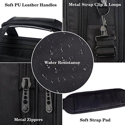 bolsa para computadora portatil de 17 pulgadas, maletin de v