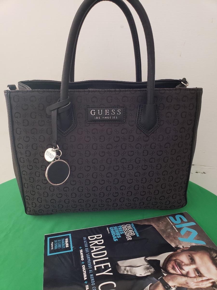 c117a5cd Bolsa Para Dama Guess Negra Coal Original Usa Tela - $ 1,850.00 en ...