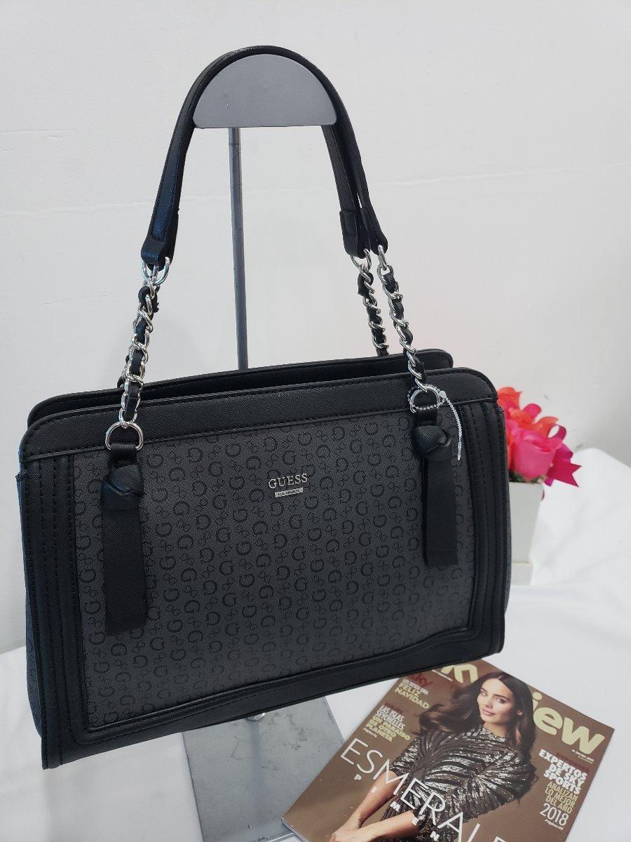 5b0f6490 Bolsa Para Dama Guess Negra Original Hazelwood Usa - $ 1,890.00 en ...