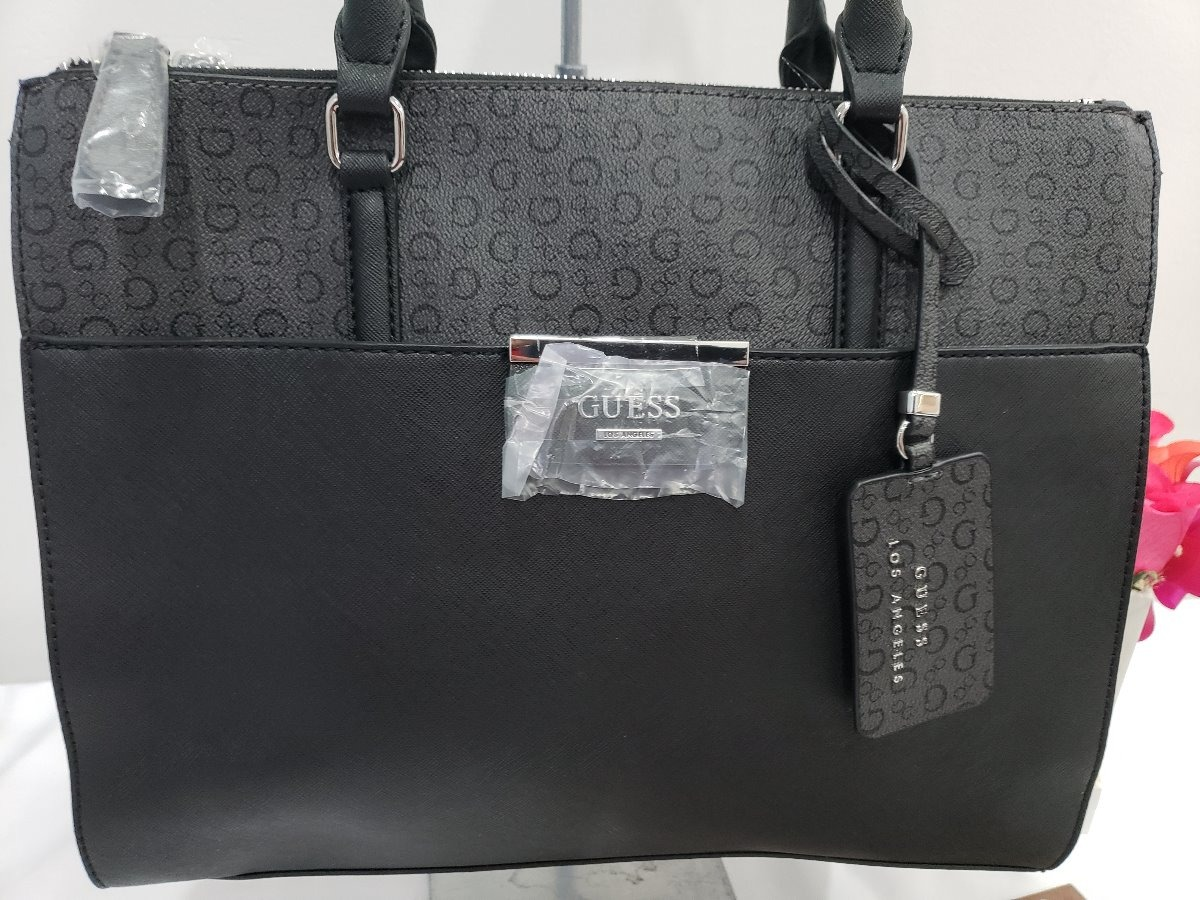 e34b895b Bolsa Para Dama Guess Negra Original Modelo Brittania - $ 1,890.00 ...