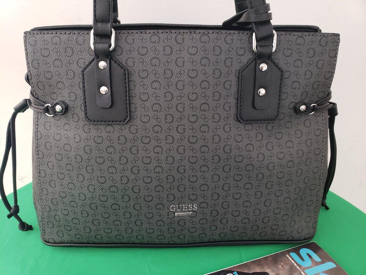 4d6e7432 Bolsa Para Dama Guess Negra Original Modelo Williamson - $ 1,890.00 ...