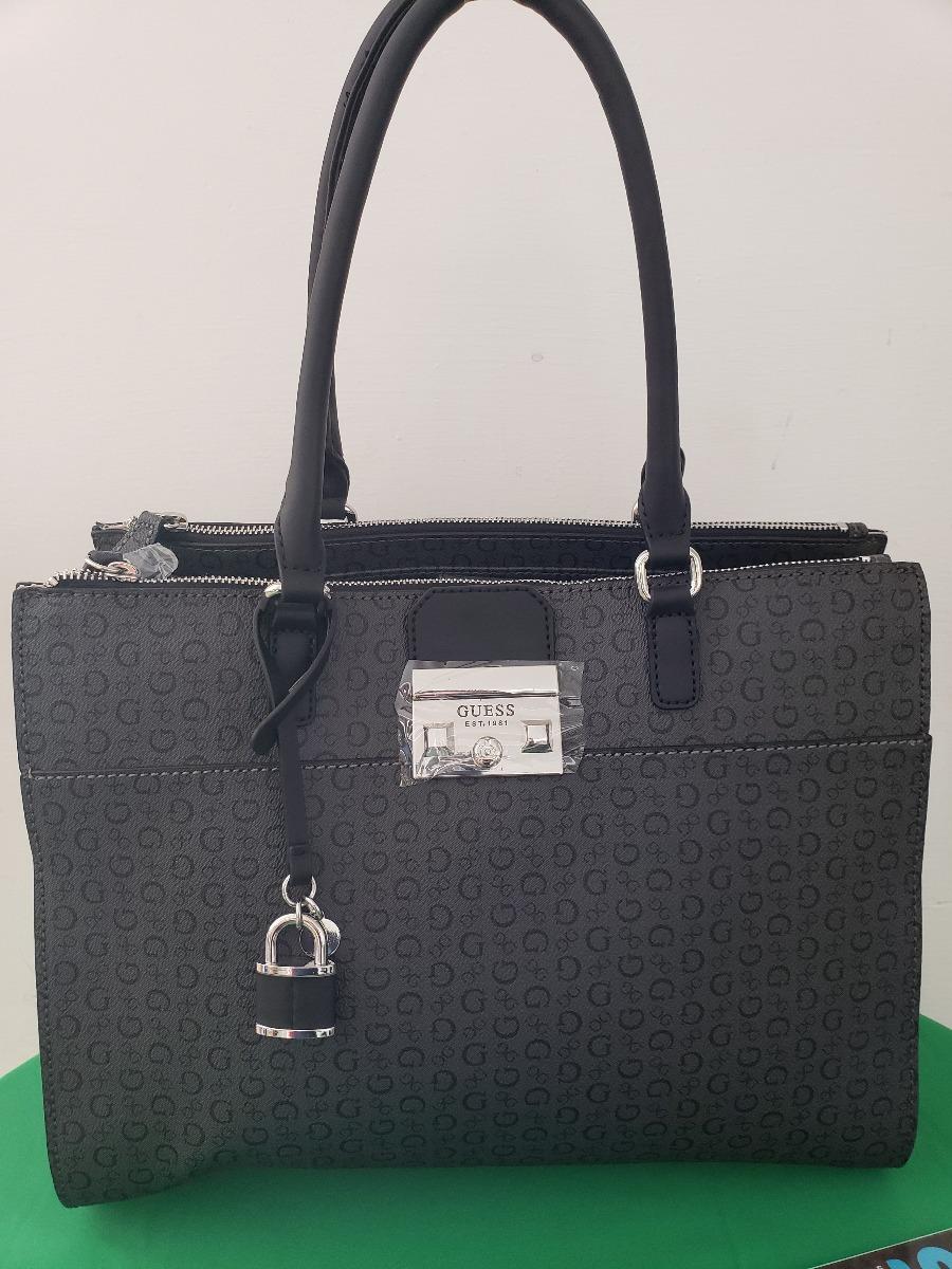 6f3469ab Bolsa Para Dama Guess Negra Original Modelo Zena - $ 1,890.00 en ...