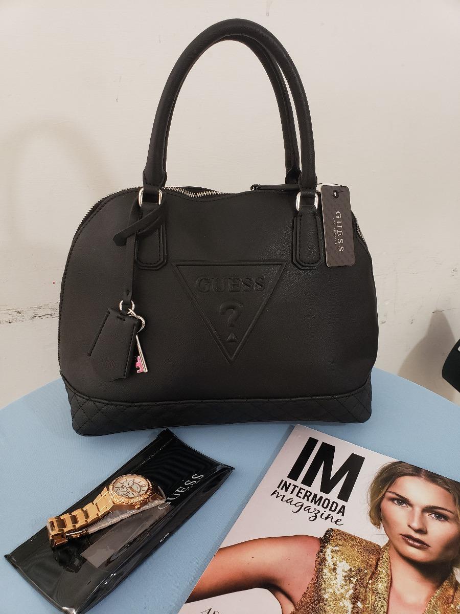 158674dc8 Bolsa Para Dama Marca Guess Negra Le637106 Original Usa - $ 1,790.00 ...