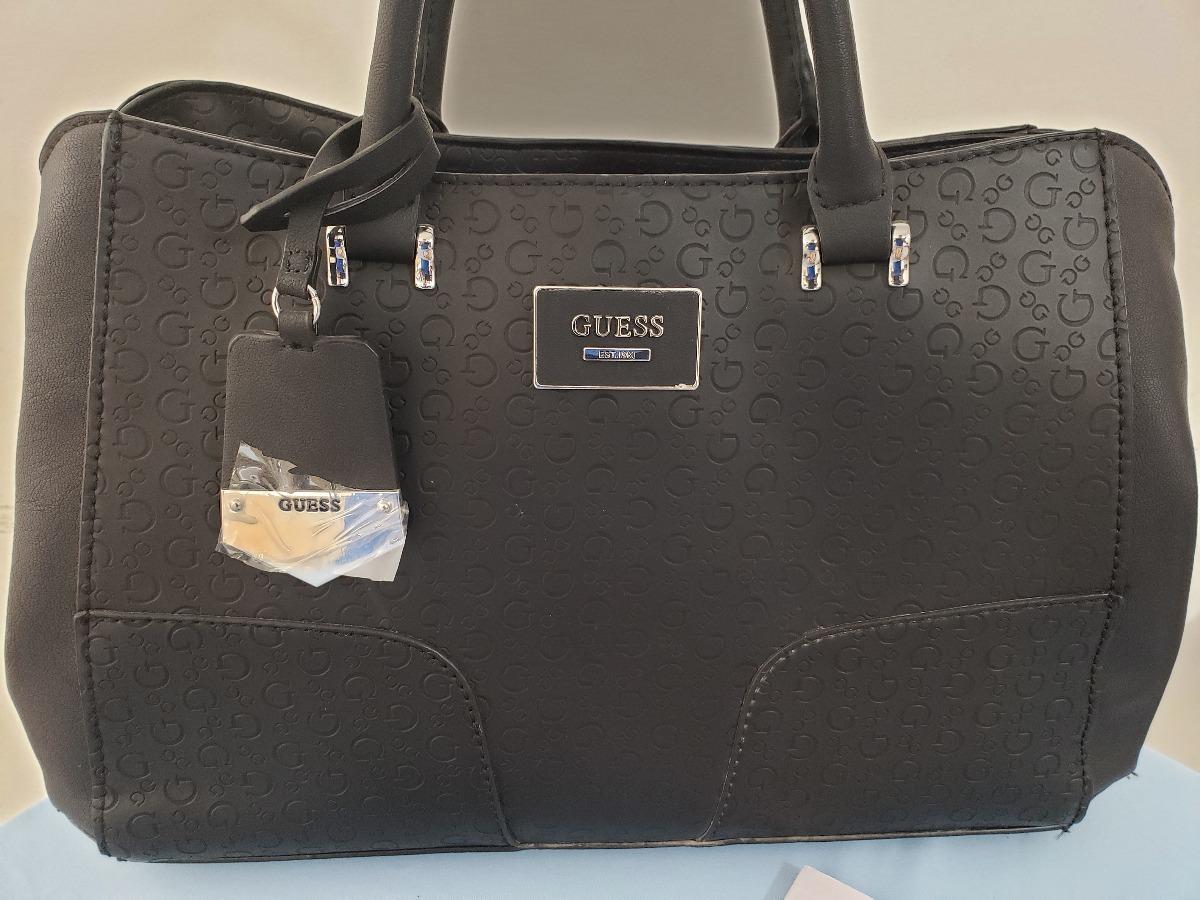 2a59035db Bolsa Para Dama Marca Guess Negra Se674307 Original Usa - $ 1,790.00 ...