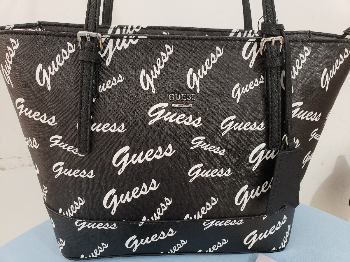 5d6646e85 Bolsa Para Dama Marca Guess Negra Ww656122 Original Usa - $ 1,790.00 ...