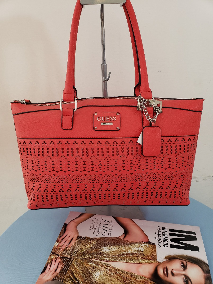 Bolsas Originales Y Nuevas Bolsas Guess Grabado en Mercado