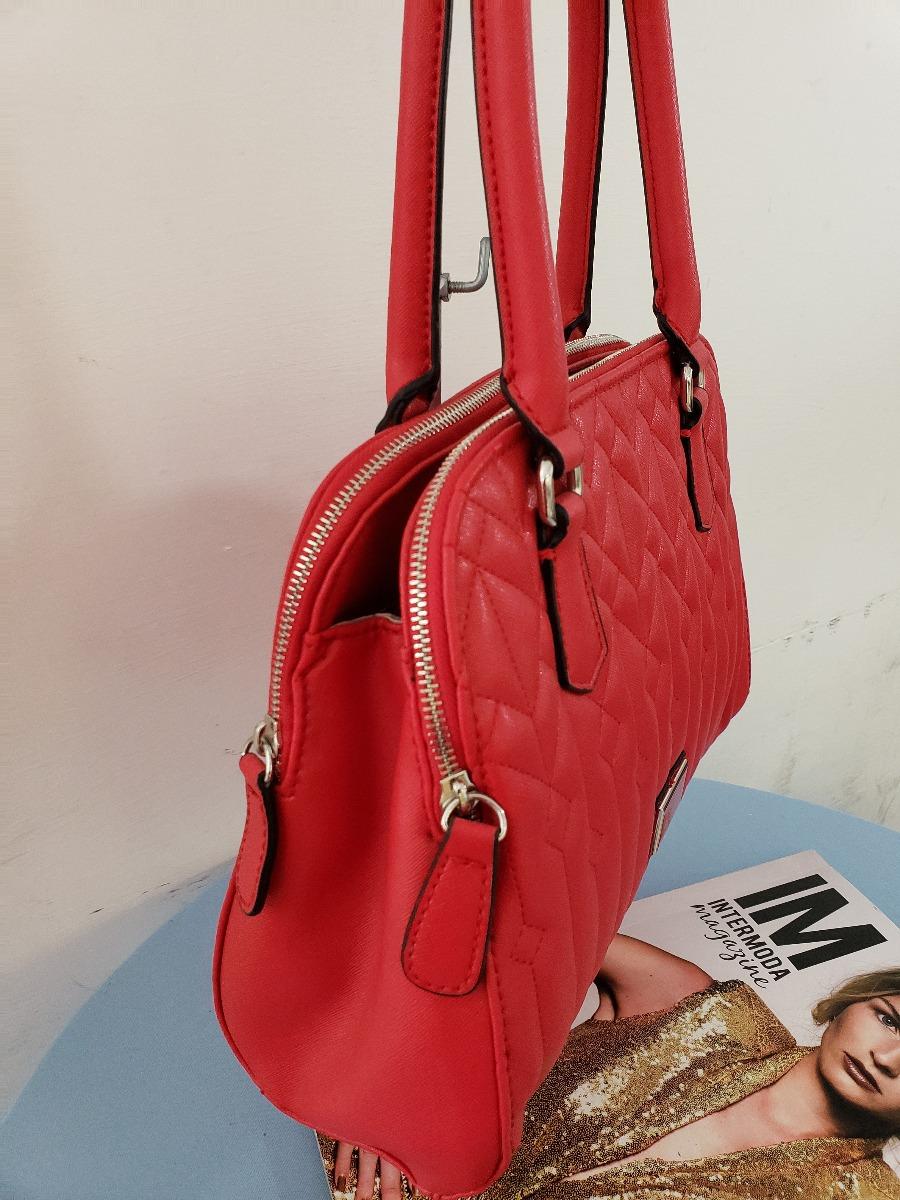 3af85e44 bolsa para dama marca guess roja rombos resalt original usa. Cargando zoom.