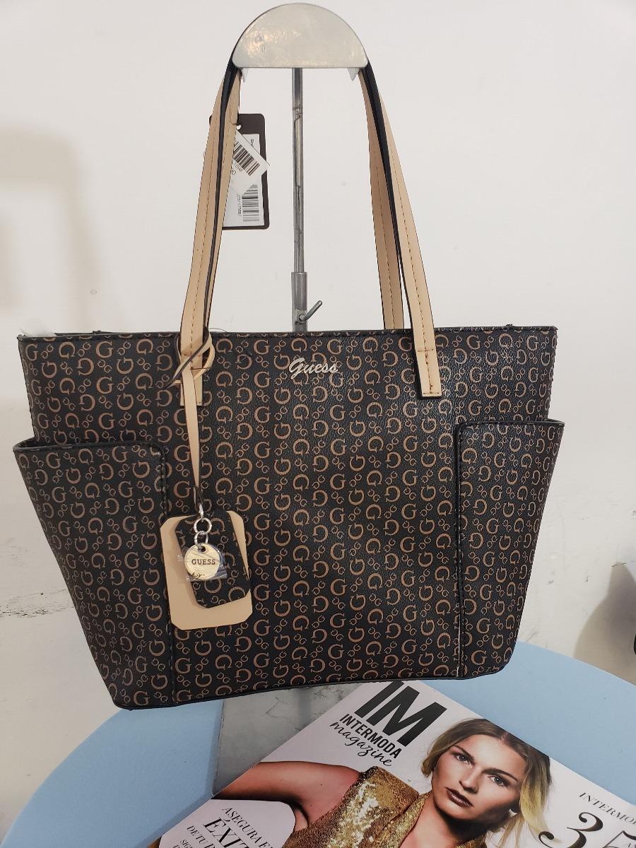 c9e030461 bolsa para dama marca negra/cafe guess bb666322 original usa. Cargando zoom.