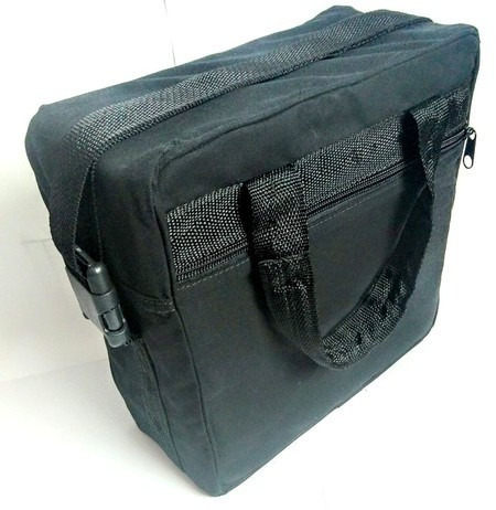 bolsa para discos de vinil (cor preta)
