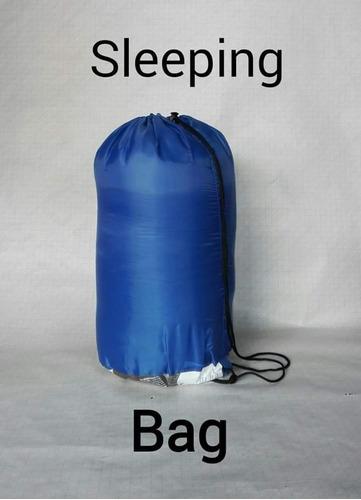 bolsa para dormir.