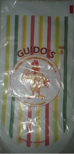bolsa para empacar pollo beneficiado
