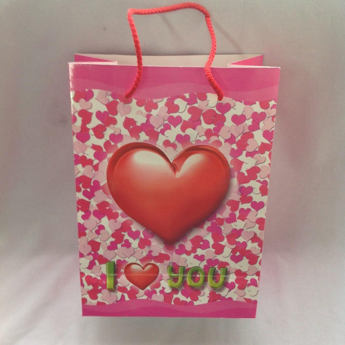 Bolsa De Mão R$ : Bolsa para empaque regalo dipak de lujo cartulina amor