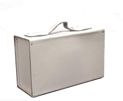 Bolsa Em Couro Para Ferramentas : Bolsa maleta para ferramentas em couro cru original r