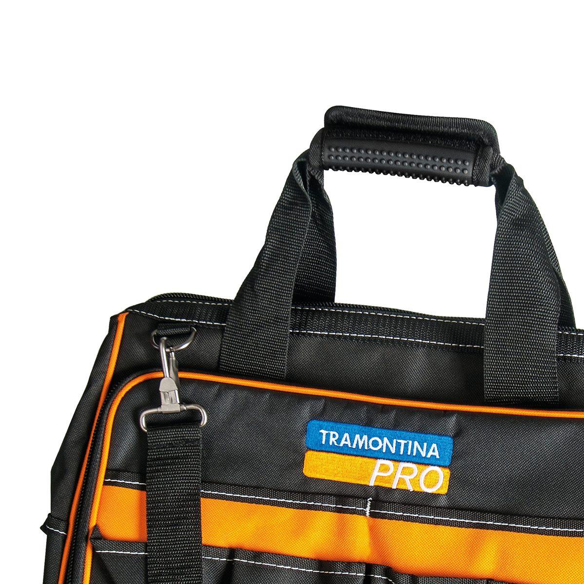 bolsa para ferramentas nylon c  24 bolsos tramontina pro. Carregando zoom. 7983b98941d
