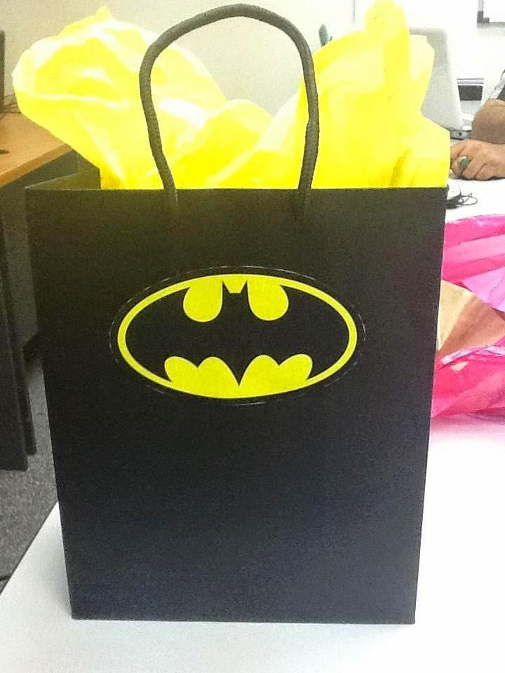 Bolsa para fiesta infantil batman en mercado libre - Bolsas para flash ...