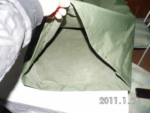 bolsa para guardar recados o monturas