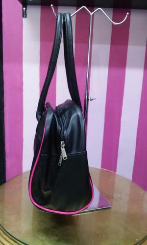 bolsa para gym puma original negro con fucsia envio gratis