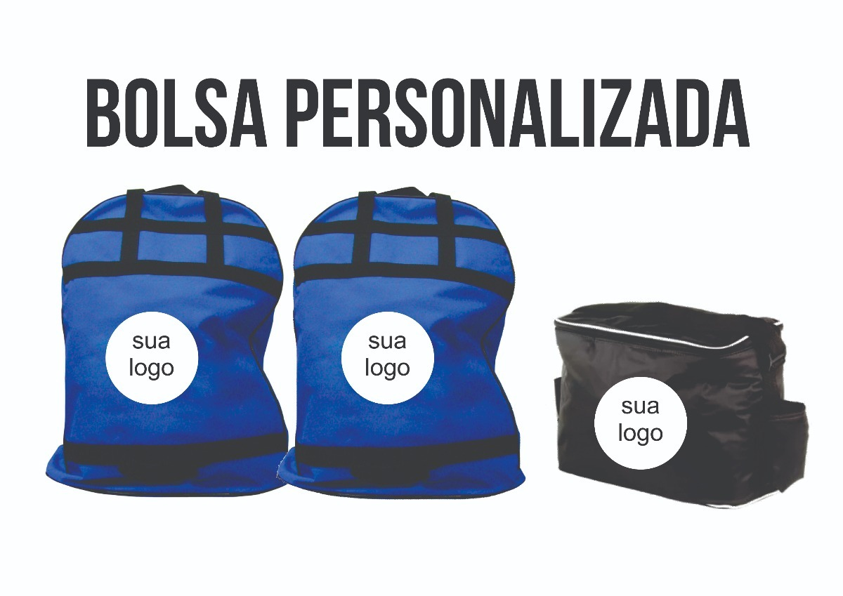 1e91c0ee8 Bolsa Para Material Esportivo Personalizada - Grande - R$ 225,00 em ...