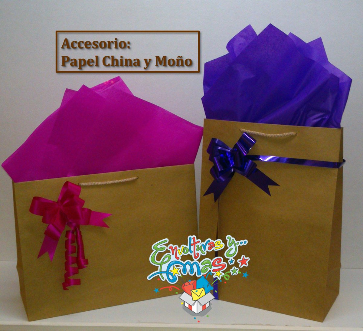 Como Decorar Un Regalo Con Papel China