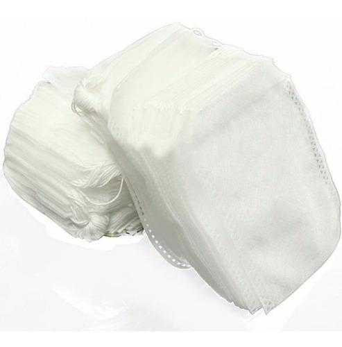 bolsa para te 100pzs para infucion 5x7cm de tela resistente