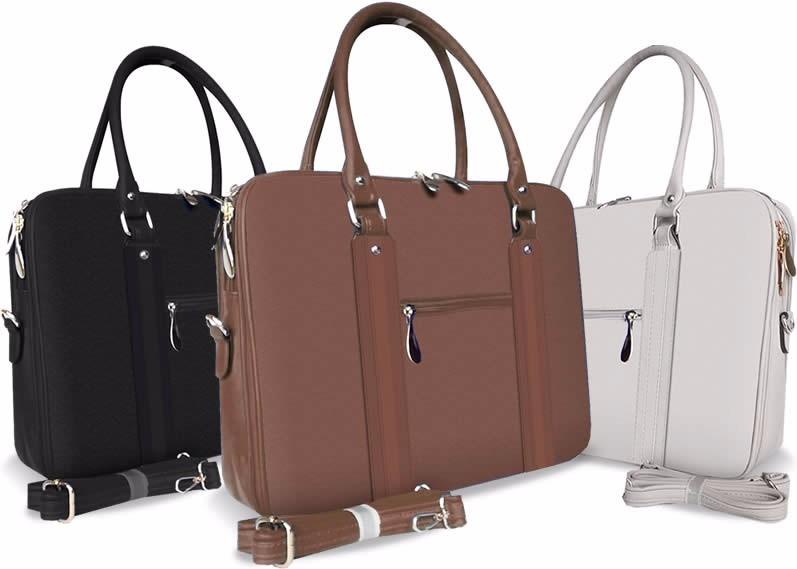 Bolsa Feminina De Couro Para Notebook : Bolsa pasta maleta case feminino notebook laptop couro r