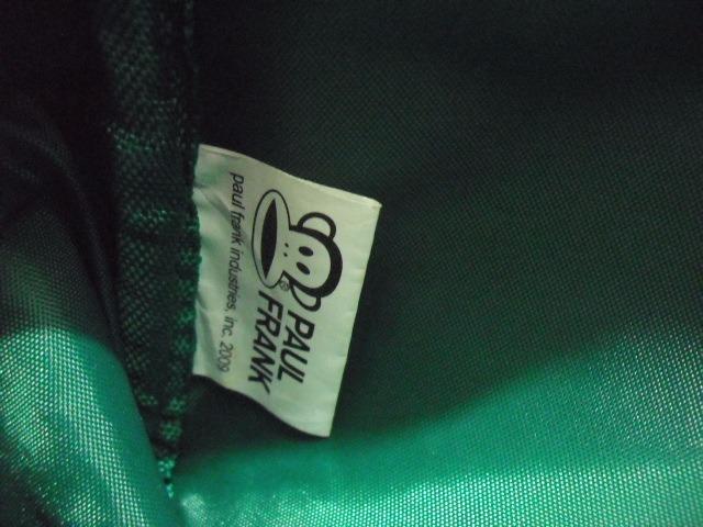 290ac2ae0 Bolsa Paul Frank Verde Macaco 18 X 18 Cm Couro Sintetico - R$ 54,00 ...