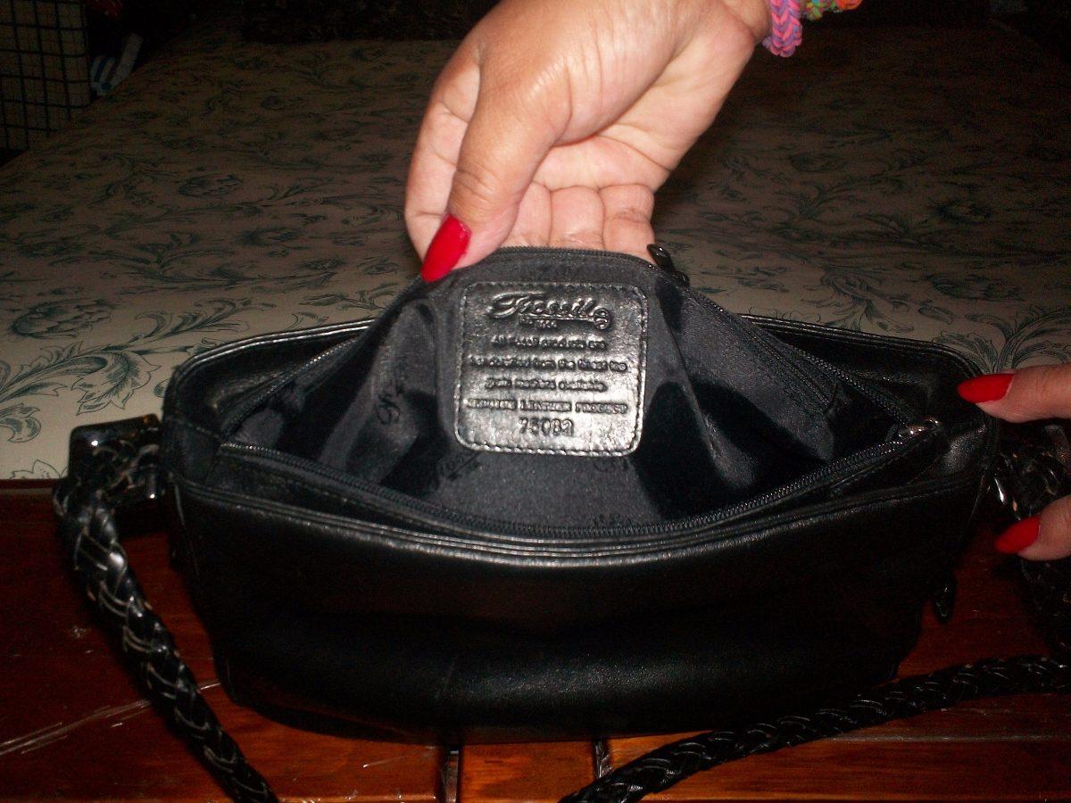 c5bfe743485a Bolsa P dama Marca Fosil Corte Piel Usada -   650.00 en Mercado Libre