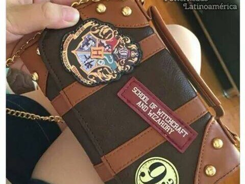 Origina Pequeña Harry Larga Potter Cartera Cadena Con Bolsa x0PAqBwdq