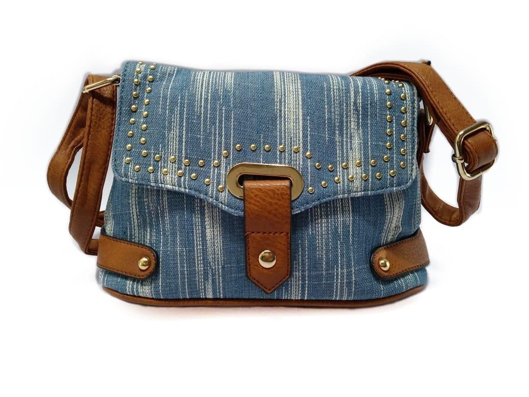 3e632c78b5 bolsa pequena jeans feminina transversal tiracolo promoção. Carregando zoom.