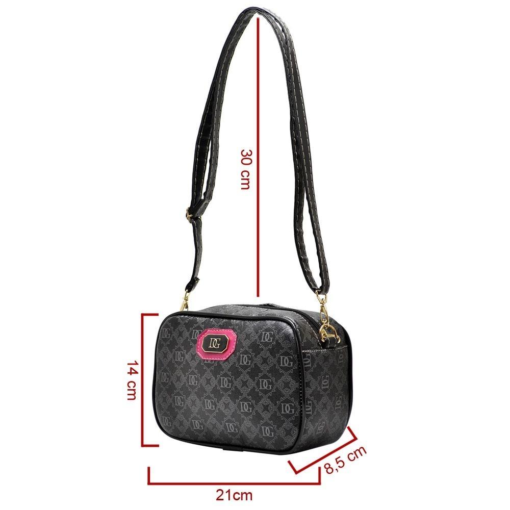 ff9da30104 bolsa pequena necessaire feminina marca diane gonçalves. Carregando zoom.