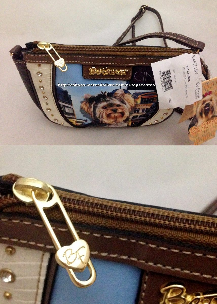 3fdd14639 bolsa pequena yorkshire york fashion original rafitthy. Carregando zoom.