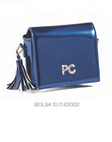 8e4f33649 Bolsa De Mao Feminina - Bolsa de Verniz Femininas Azul no Mercado ...