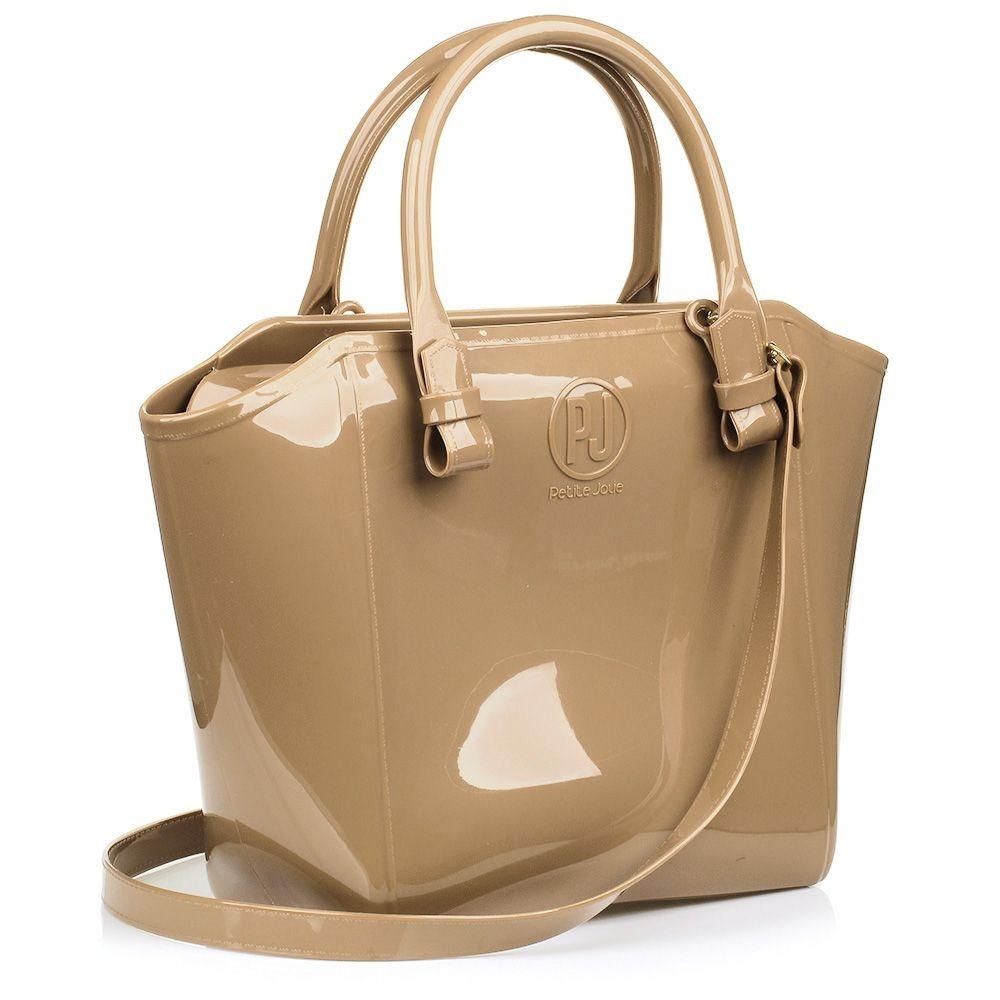 e4f9ee8449 Bolsa Shopper Petite Jolie Pj1770 Lançamento - R  106