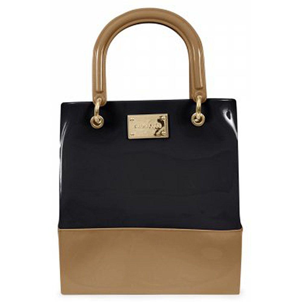 12fba9523 Bolsa Shopper Preta/natur Petite Jolie Pj2840 - R$ 144,90 em Mercado ...