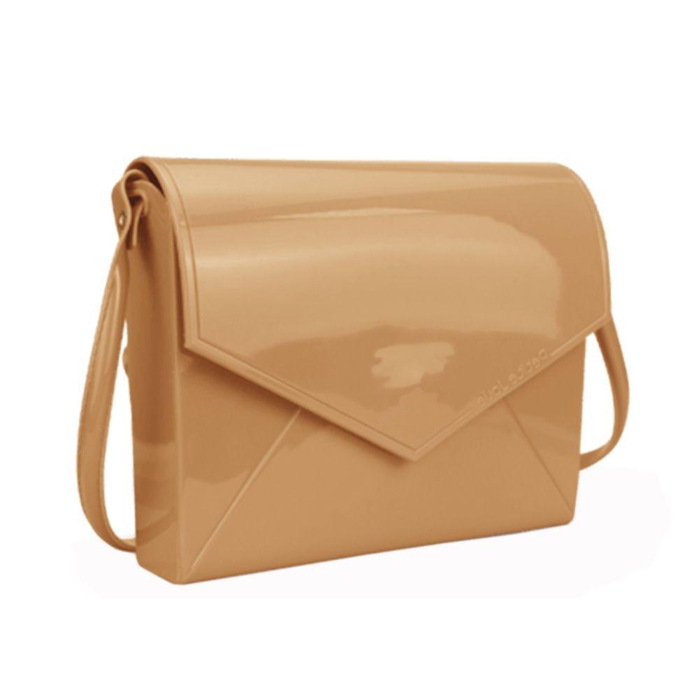 8c456d26f0 Bolsa Petite Jolie Feminina Envelope Flap Bag Nude Pj2365 - R  54