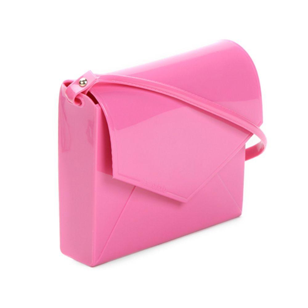 4824d932f2 Bolsa Petite Jolie Feminina Envelope Flap Verniz Pink Pj2365 - R  96 ...
