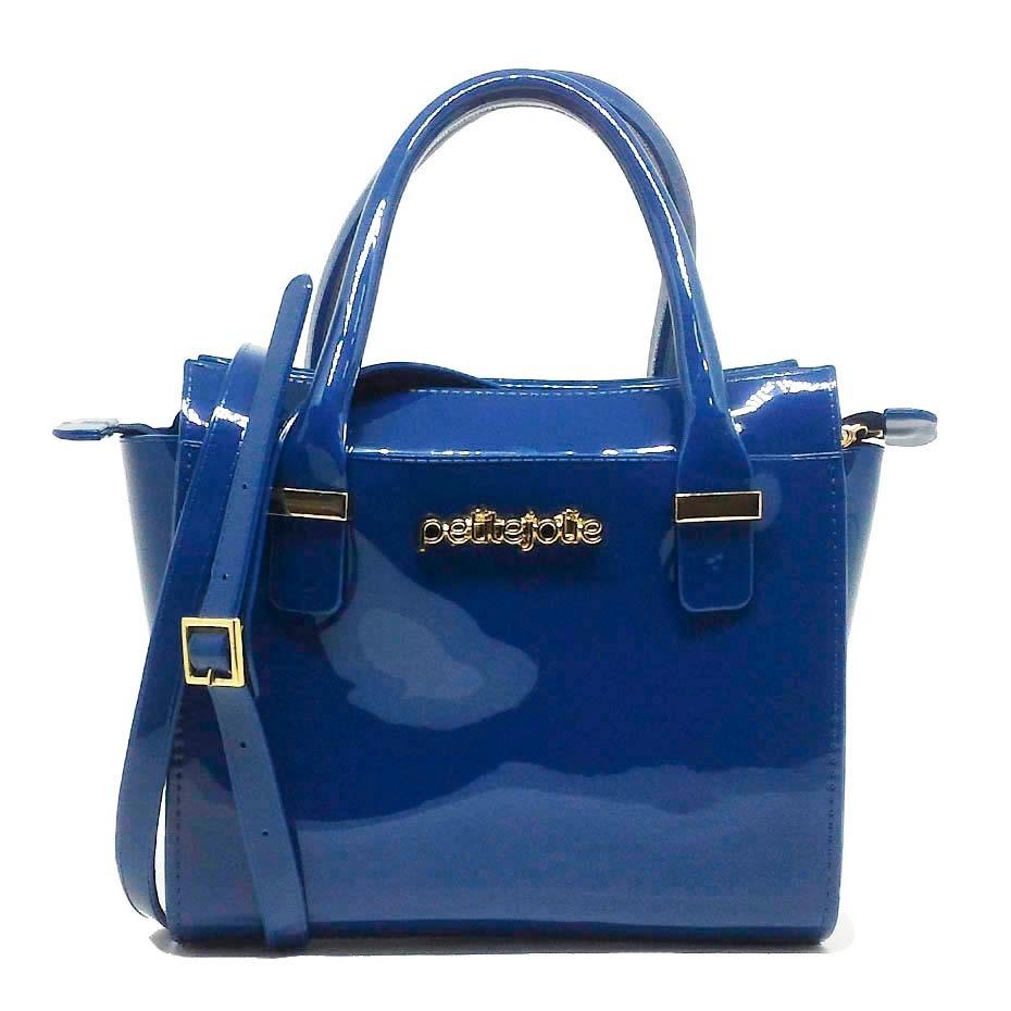 1e7257353d bolsa petite jolie love bag pj2121 azul cor azul. Carregando zoom.