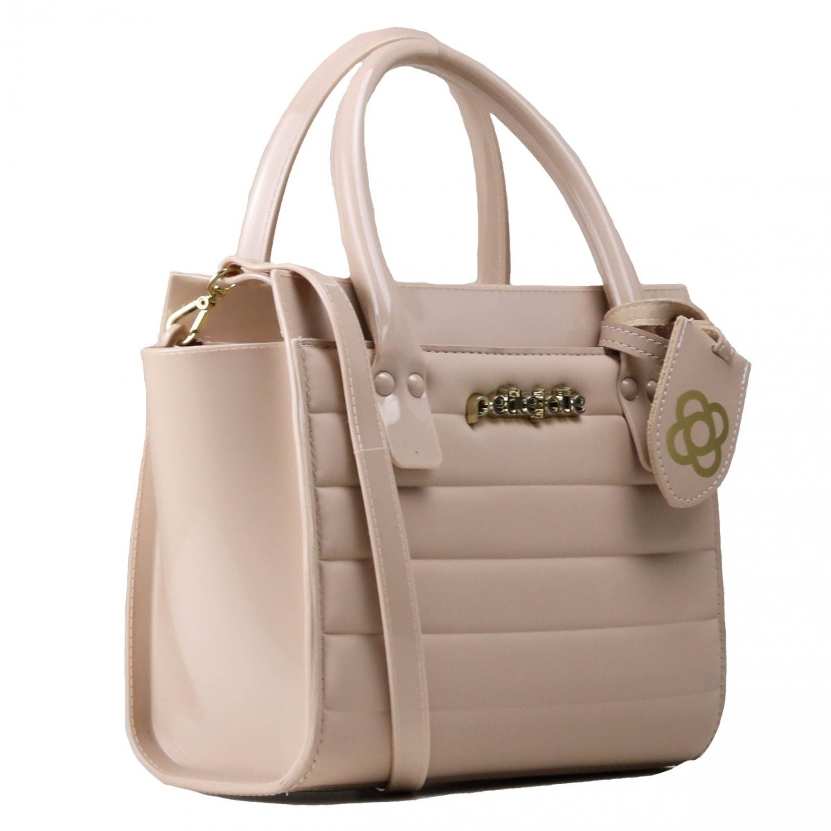 ca7dd5d525 bolsa petite jolie satchel casual rosa pj3597. Carregando zoom.