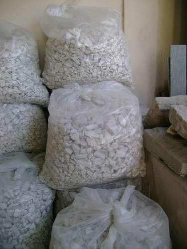 bolsa piedra marmol blanco 1-2cm 55 kg 6000 calif fact a /b