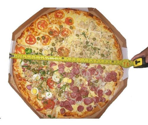 bolsa pizza quadrada original paru brasil 45 x 45 x  20 cms