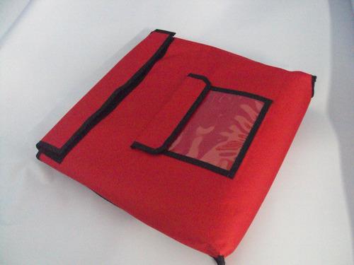 bolsa pizza quadrada tamanho gg 55 x 55 original paru brasil
