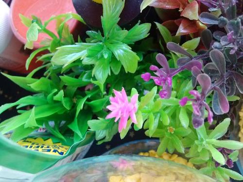 bolsa plantas artificiales