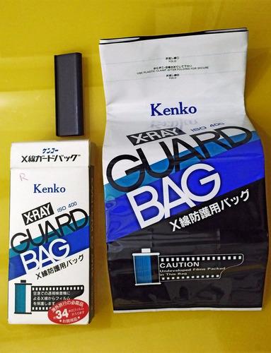 bolsa plomo kenko protectora material fotografico de rayo x