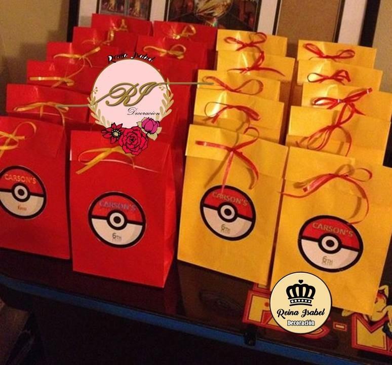 a2a7c2a6e Bolsa Pokemon Cumpleaños Candy Bar Baby Shower Bautismo - $ 27,99 en ...
