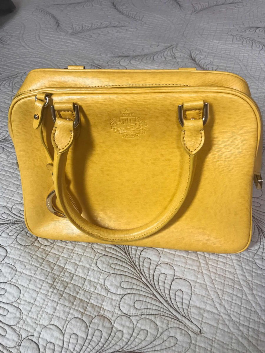 112eabf9c Bolsa Polo Ralph Loren Amarela Mostarda - R$ 349,90 em Mercado Livre