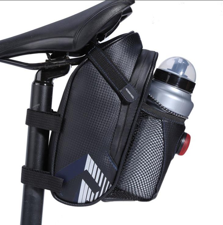 Bolsa Accesorios para Asiento de Bicicleta para Ciclismo y Montaña