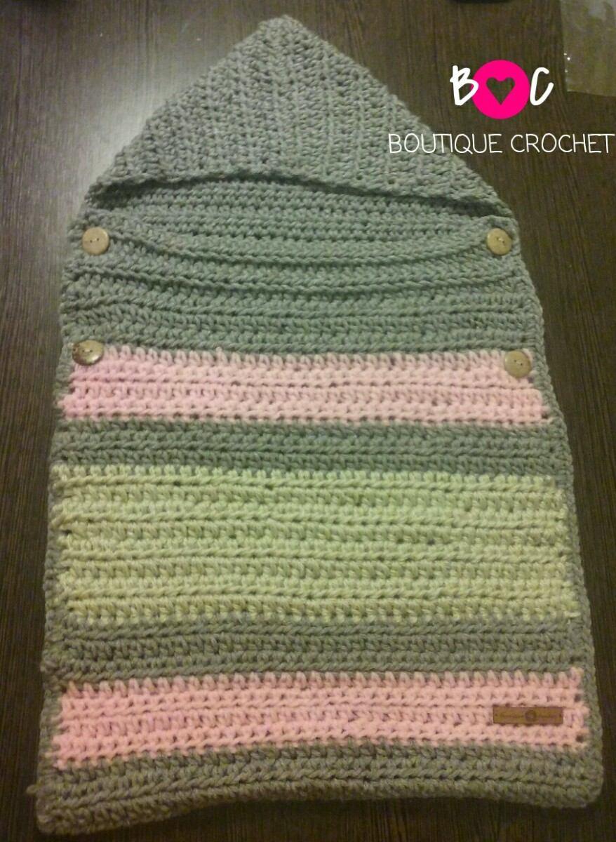 Bolsa Porta Bebe Tejida Al Crochet / Porta Enfant - $ 500,00 en ...