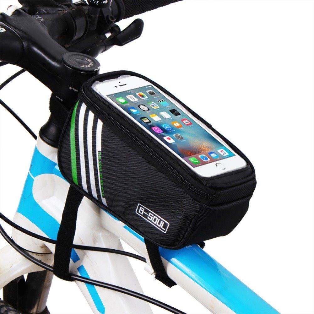 1cc7ca2c055 bolsa porta celular bike objetos suporte quadro bicicleta. Carregando zoom.